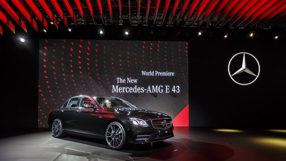Mercedes-Benz auf der New York International Auto Show 2016 Mercedes-Benz at the 2016 New York International Auto Show