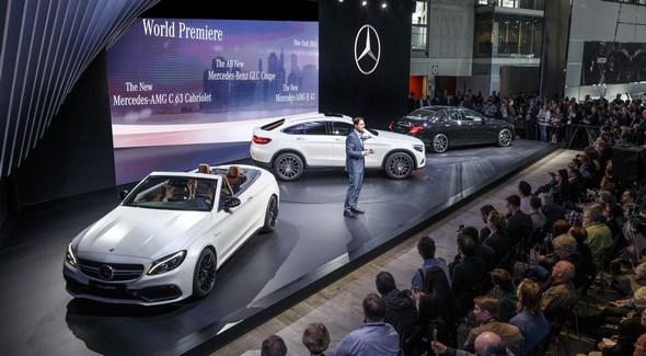 Mercedes-Benz auf der New York International Auto Show 2016 Mercedes-Benz at the 2016 New York International Auto Show
