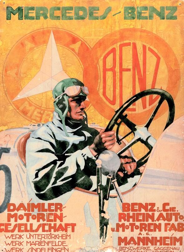 Fusionsplakat, Benz & Cie. und die Daimler-Motoren-Gesellschaft