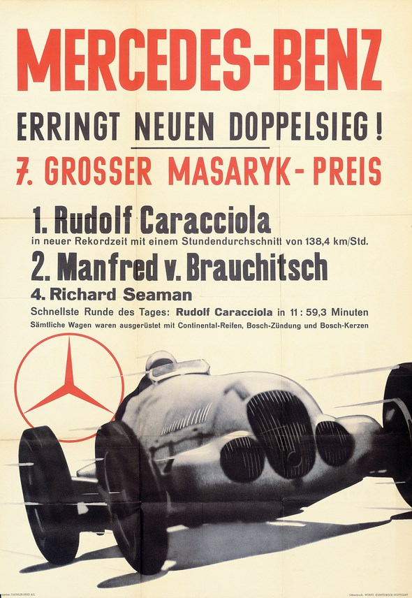 Großer Masaryk-Preis, bei Brünn, 1937