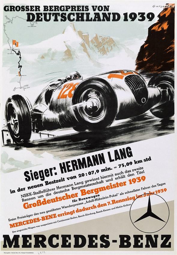 Großer Bergpreis von Deutschland, 1939