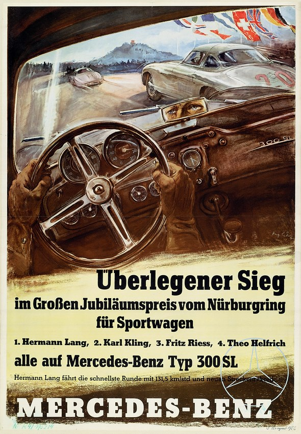 Großer Jubiläumspreis auf dem Nürburgring, 1952