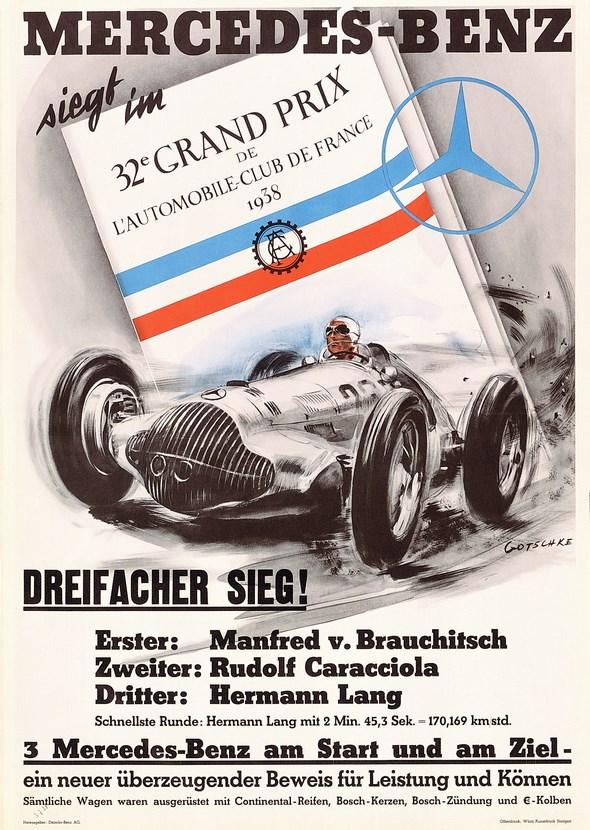 Großer Preis des französischen Automobilclub, 1938
