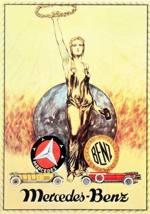 Werbeanzeigen Interessengemeinschaft DMG u. Benz & Cie. 1926