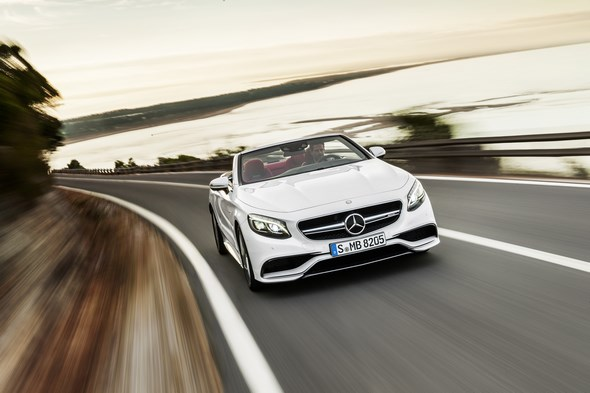 Mercedes-AMG S 63 Cabriolet (A 217), 2015