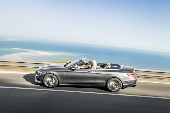 Mercedes-Benz S-Klasse Cabriolet ( A 217 ), 2015 Mercedes-Benz S