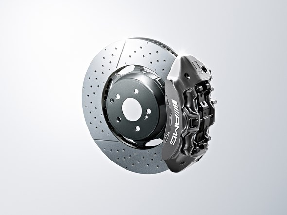 Hochleistungs-Verbundbremsanlage high-performance composite brake system