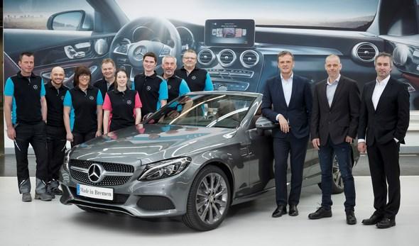 Mercedes-Benz startet Produktion des C-Klasse Cabriolets