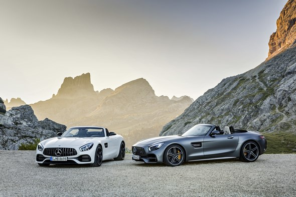 AMG GT Roadster und AMG GT C Roadster