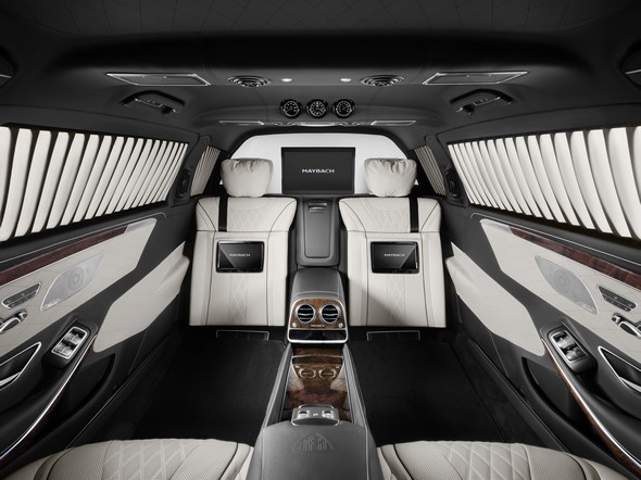 Mercedes-Maybach S 600 Pullman Guard.