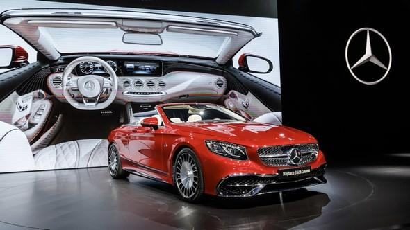 Mercedes-Benz & smart auf der Los Angeles Auto Show 2016