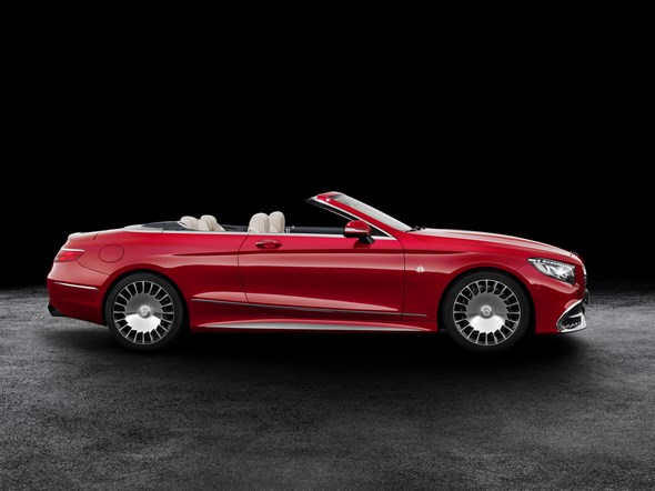 Auf 300 Exemplare limitiert: Neues Mercedes-Maybach S 650 Cabriolet: Ultimative Open-Air-Exklusivität